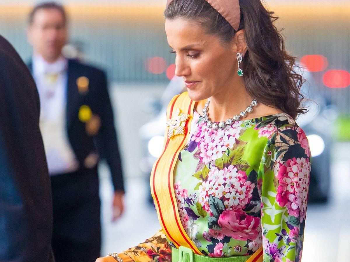 Foto: La reina Letizia en Japón. (CP)