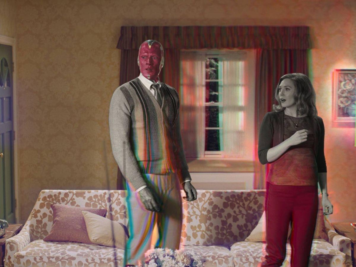 Foto: Imagen promocional de 'Bruja Escarlata y Visión'. (Marvel Studios)