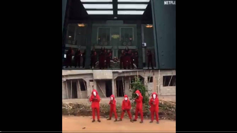 La réplica viral de 'La casa de papel', hecha por niños de Nigeria, que alaban sus actores