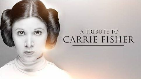 El tributo de 'Star Wars' a Carry Fisher: Que la fuerza te acompañe, princesa Leia