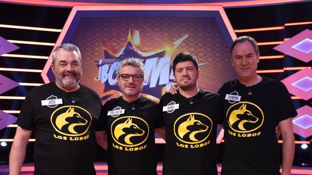 Foto: Los integrantes de los Lobos se conocieron en 'Saber y ganar'. (Atresmedia)