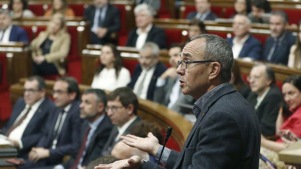 Foto: El portavoz de Catalunya Sí Que Es Pot, Joan Coscubiela. (EFE)