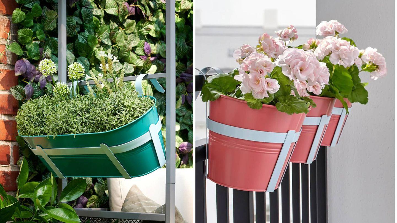 Para una planta o para que combines varias, Ikea tiene soluciones para todo. (Cortesía)