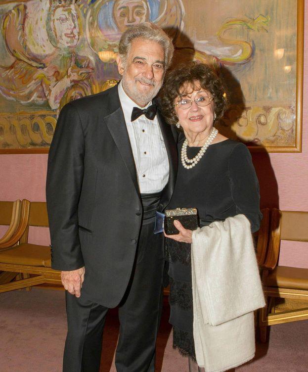 Foto: Plácido Domingo y Marta Ornelas, en una imagen de archivo. (EFE)