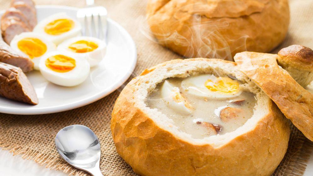 Foto: Crema polaca de Semana Santa en pan. (iStock)