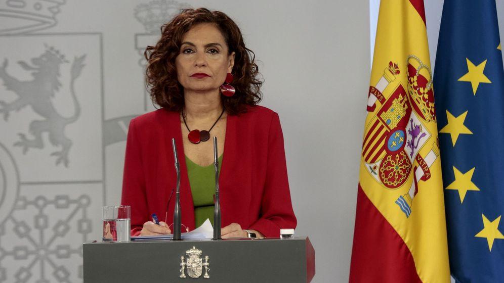 Foto: Ministra de Hacienda, María Jesús Montero (EFE)