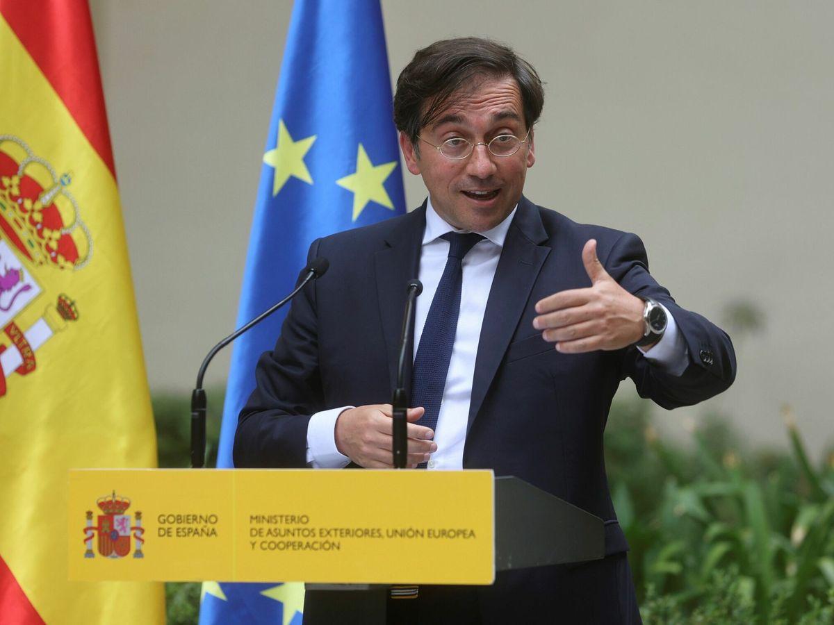 Foto: El ministro de Exteriores, José Manuel Albares (EFE)