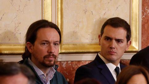 Iglesias y Rivera acuerdan abrir una mesa de negociación para la reforma electoral