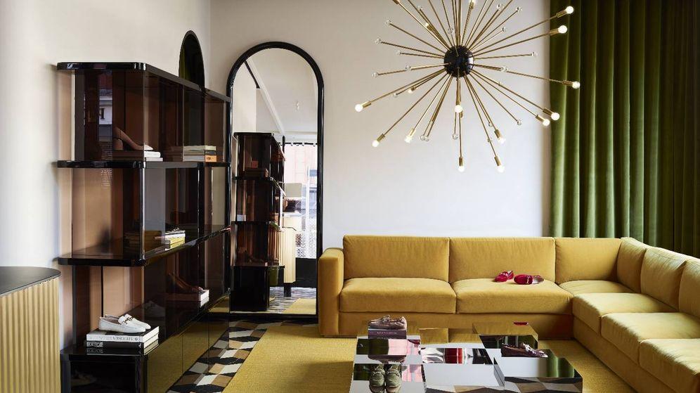 decoración: ¿una tienda o una casa? el apartamento sloane de tods lo