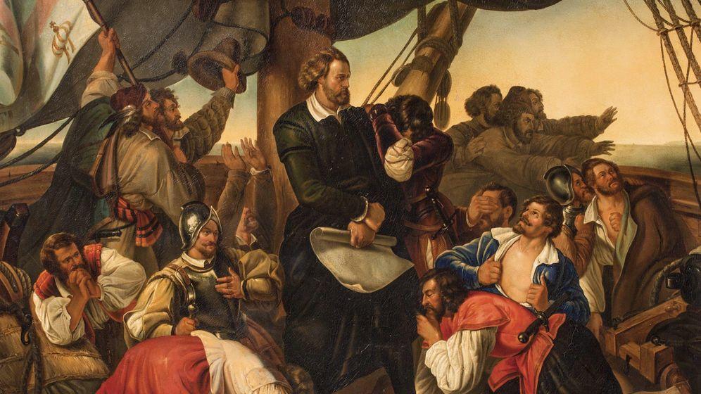Foto: Cristobal Colón visto por el pintor Christoph Christian Ruben.