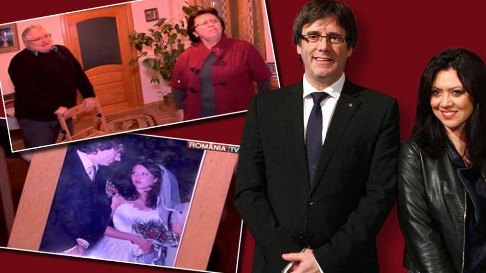 Las fotos nunca vistas de Carles Puigdemont: su boda, su familia rumana..