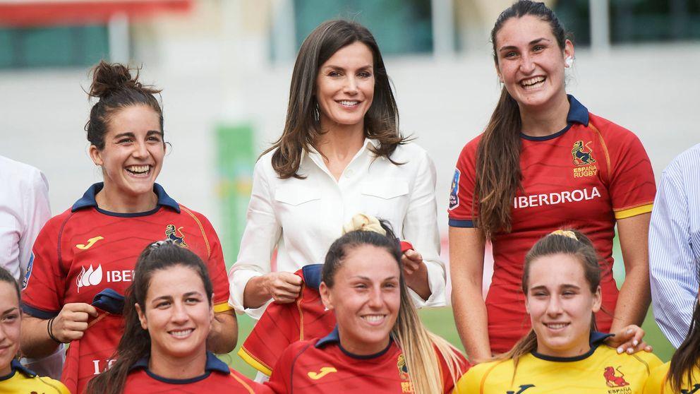 El día que la hija de Blanca Fernández Ochoa conoció a la reina Letizia