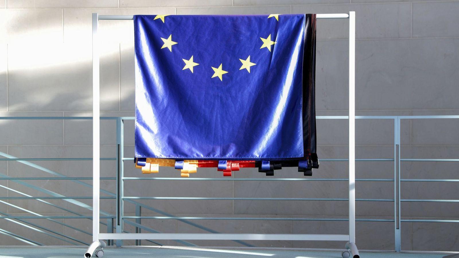 Foto: Bandera de la Unión Europea. (EFE)