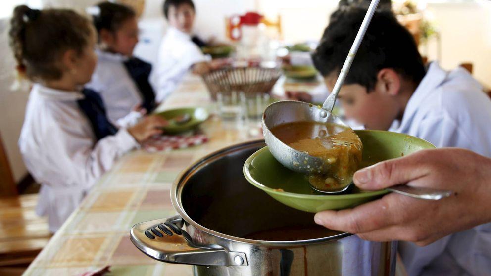 Denuncian la presencia de gusanos en el menú de un comedor escolar de León