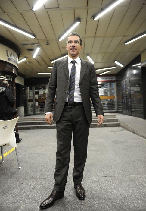 Foto: Carlos Iglesias en el juicio donde se le declaró hijo legítimo de Koplowitz (I. C)