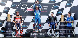 Post de Resultado de MotoGP: Rins gana a Márquez por 13 milésimas y Dovizioso se cae