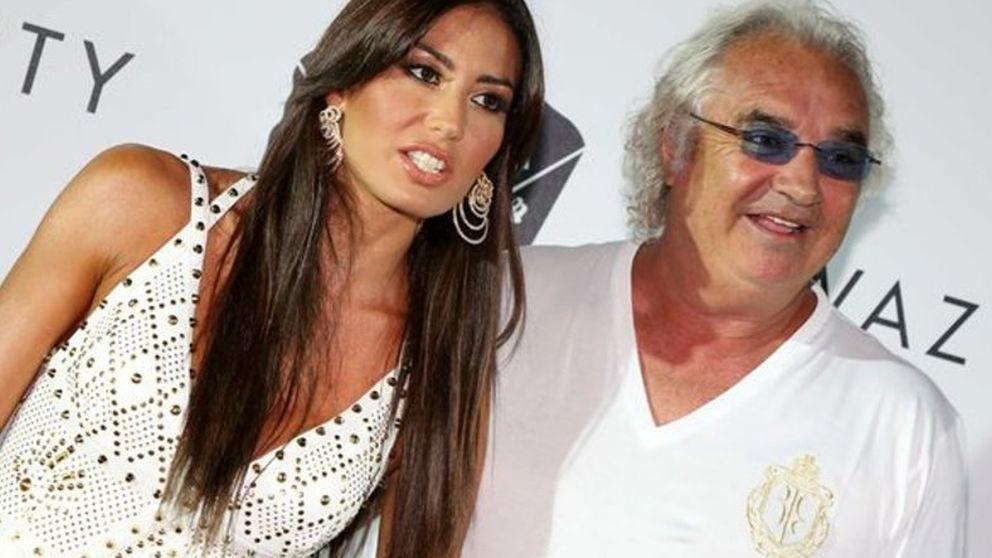 Flavio Briatore e Irina Shayk, juntos de fiesta en Cerdeña
