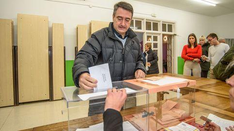En Euskadi, con el 73,94% escrutado, PNV logra 7 escaños y PP se queda sin diputados
