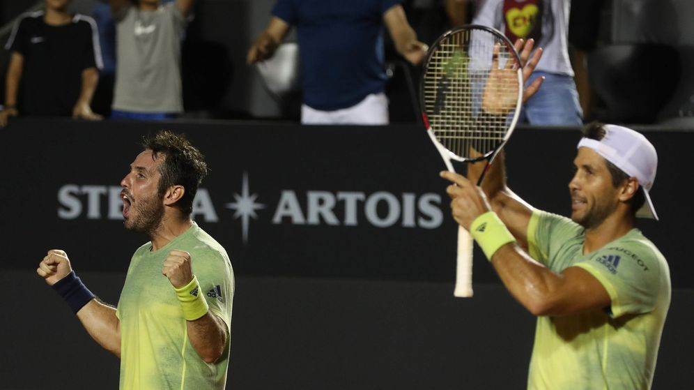 Foto: Marrero y Verdasco, investigados por un posible amaño de partidos en Wimbledon. (EFE)