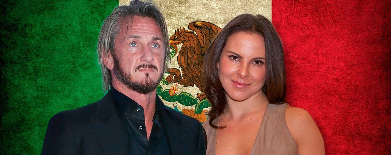 Foto: Sean Penn y la actriz mexicana Kate del Castillo, en un fotomontaje de Vanitatis