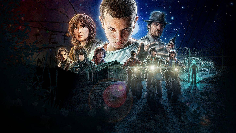 'Stranger Things', entre lo más visto de Netflix en España.