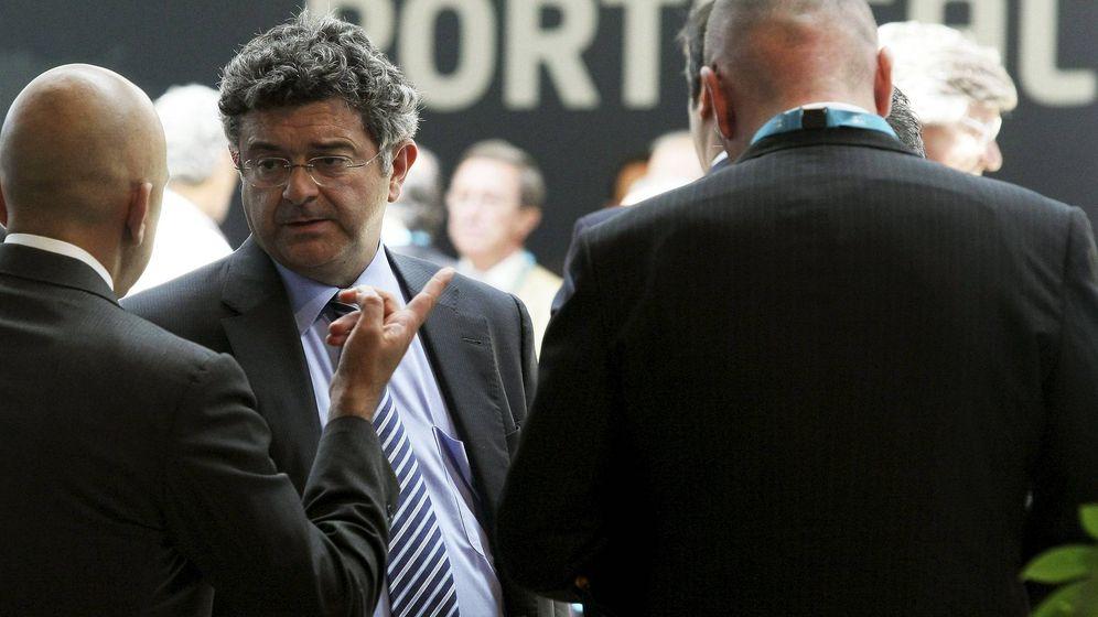Foto: El vicepresidente de EBN Banco, Santiago Fernández Fernández Valbuena. (EFE)