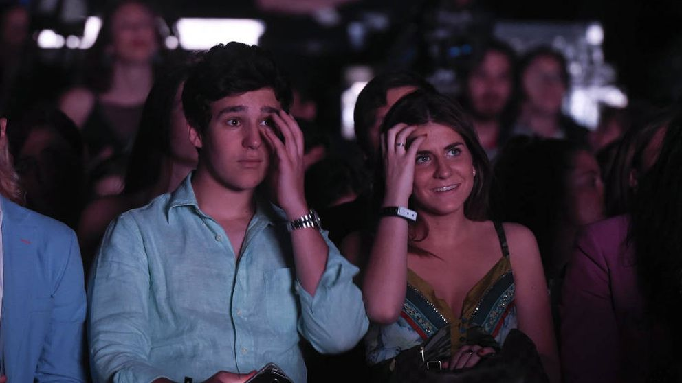 Froilán, sin su amor Mar Torres, en el concierto de Manu Carrasco en Starlite