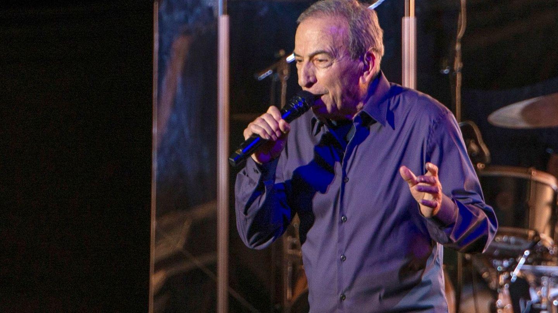 José Luis Perales, en el concierto de Starlite. (EFE)