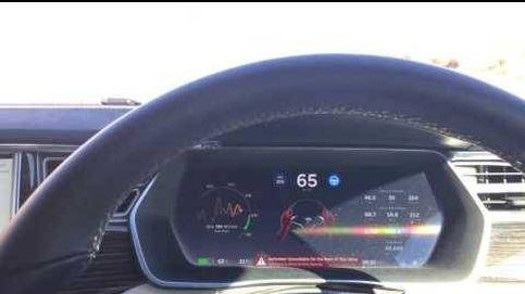 Así responde un Tesla cuando te quedas dormido al volante