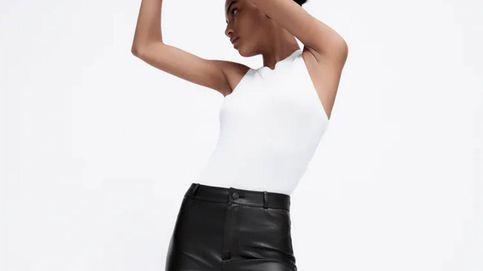 Estos son los leggings efecto piel de Zara que necesitas en tu fondo de armario