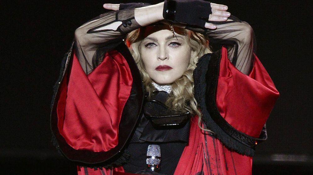 Foto: Madonna en el concierto en Zúrich. (EFE)
