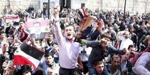 Las protestas contra la familia Asad se extienden en Siria