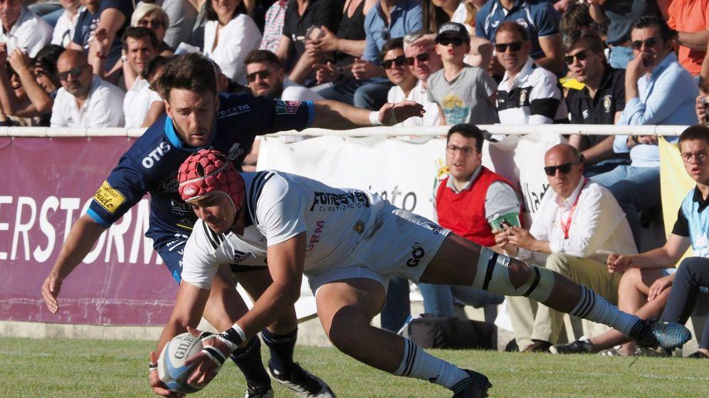 Foto: la liga masculina de rugby volverá al ostracismo esta temporada si no hay acuerdo entre la federación y los clubes. (EFE)