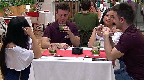 Curiosa cita en 'First dates': dos gemelos y dos mellizas... ¡y felices los cuatro!