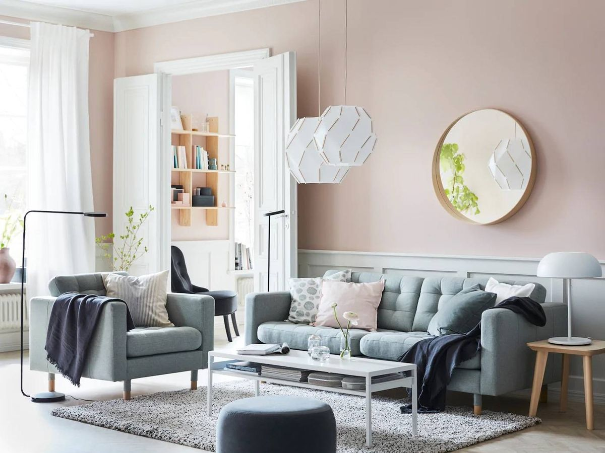 Foto: Un espejo, como este de Ikea, puede ayudarte a decorar tu casa. (Cortesía)