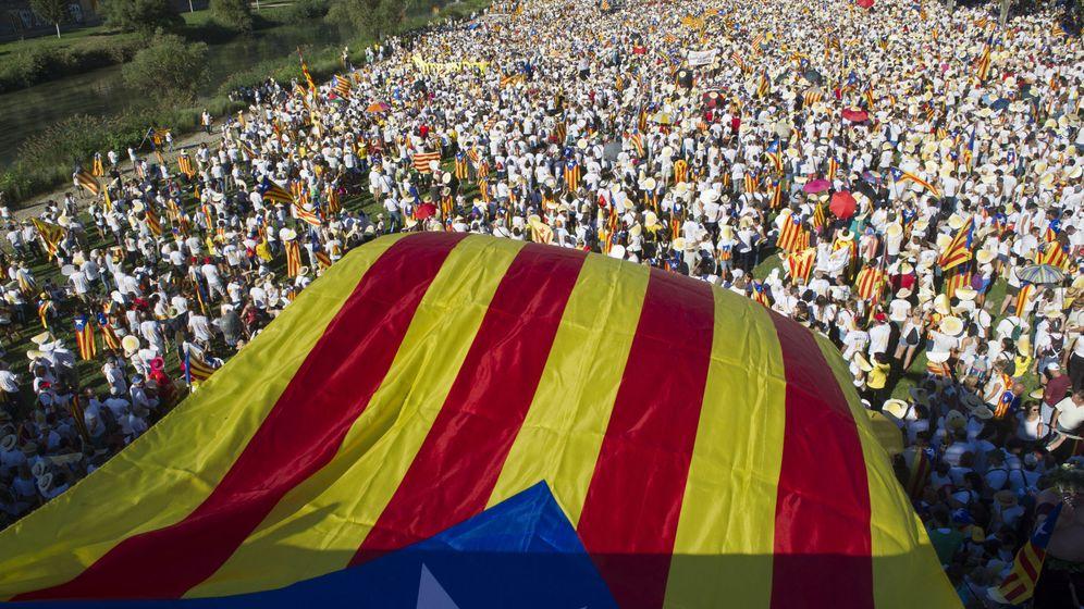 Foto: Manifestantes por la independencia.