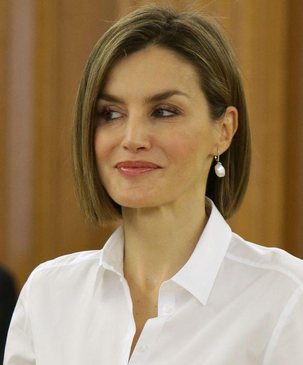 Foto: Doña Letizia durante una de las audiencias (Gtres)