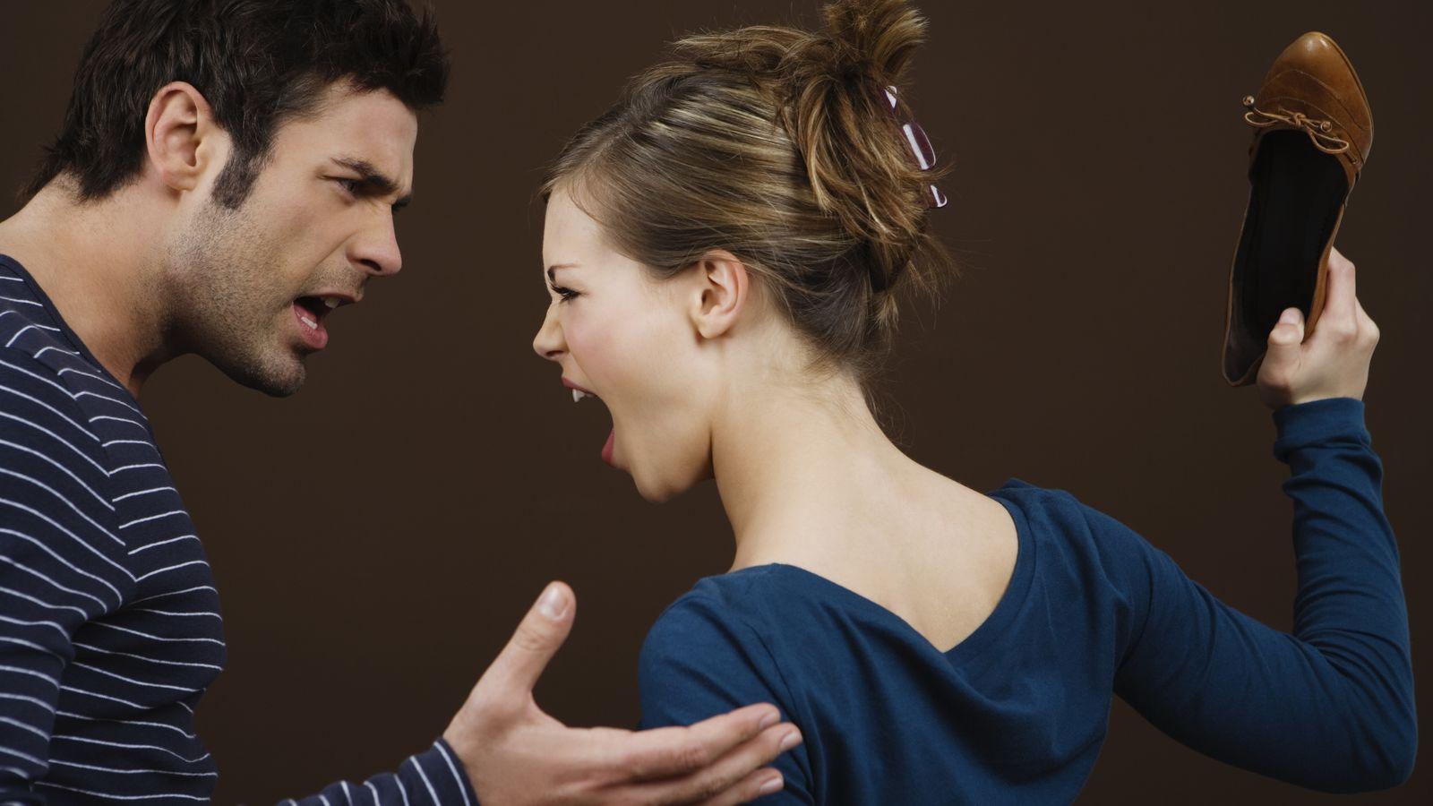 Foto: Cuando discutimos estamos tan furiosos que no somos capaces de detener lo que sale de nuestra boca, pero hay que aprender a controlarse. (Corbis)
