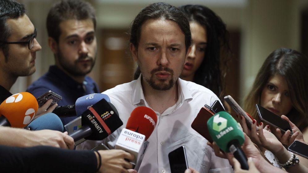 Foto: Pablo Iglesias, secretario general de Podemos. (EFE)