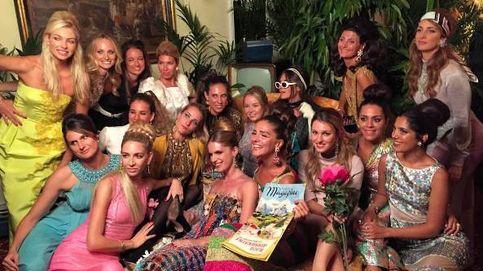 Tatiana Santo Domingo y Alexandra de Hannover lo dan todo en el 30 cumpleaños de Eugenie Niarchos