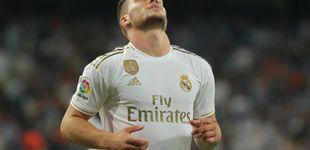 Post de Luka Jovic y Mariano, los 80 millones de euros que no lucen en el Real Madrid