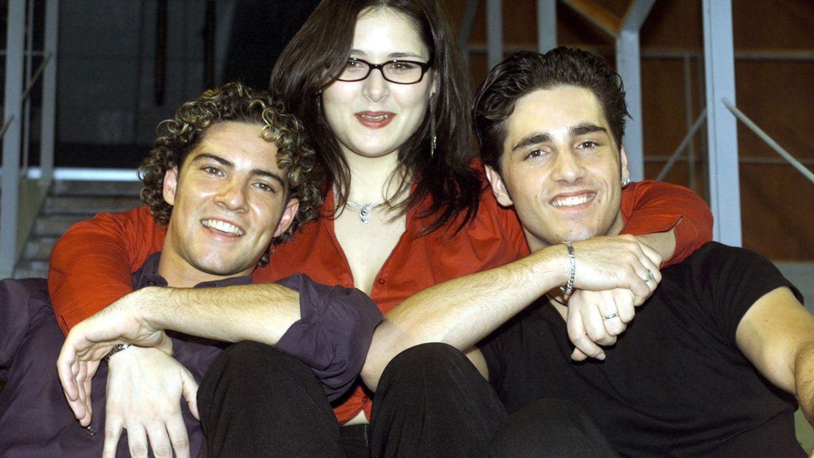 Foto: Bisbal, Rosa y Bustamante