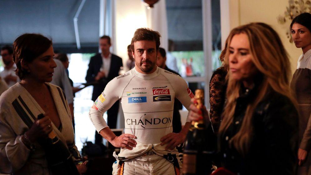 Foto: Fernando Alonso, en un acto promocional de Sao Paulo.