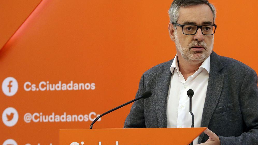 Foto: El secretario general de Ciudadanos, José Manuel Villegas. (EFE)
