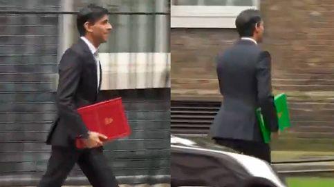El último reto viral: ¿por qué cambia de color la carpeta de este ministro inglés?