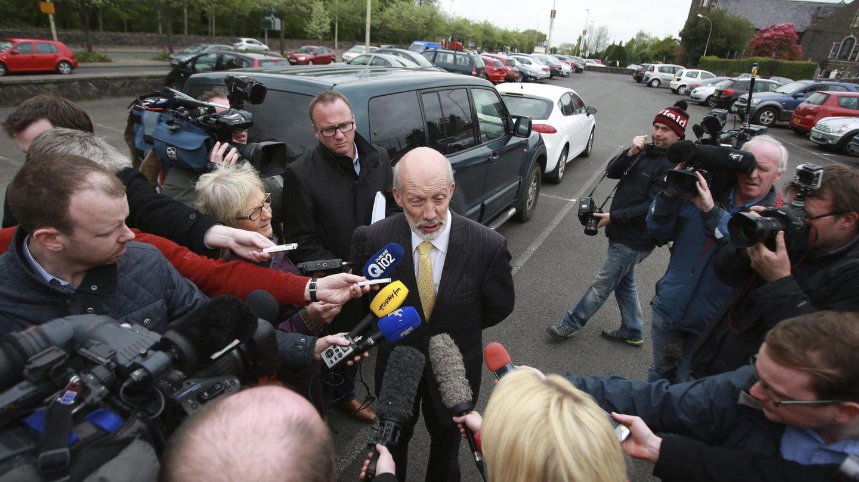 El ministro norirlandés de Justicia, David Ford (c). (Efe)