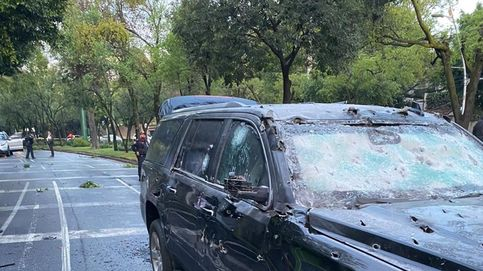 Una cámara graba el atentado sobre el Secretario de Seguridad de México D.F.