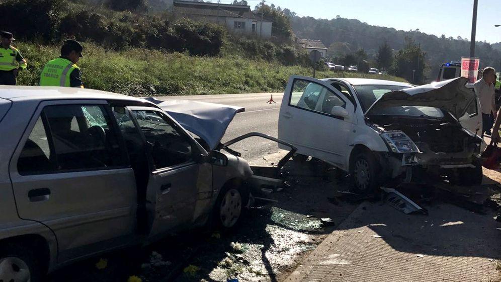 Foto: Accidente del pasado 20 de octubre en Coruña. (EFE)