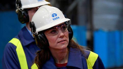 Del look romántico al look de trabajadora: la imagen más inesperada de Kate Middleton