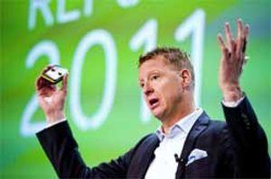 Ericsson se hunde más de un 13% tras publicar una caída del 65% de su beneficio